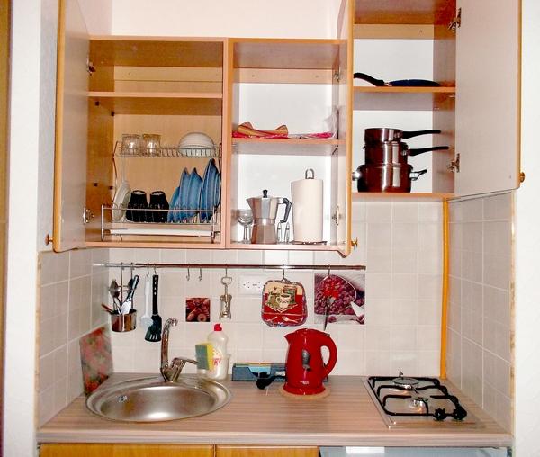 Apartamento econ mico para 1 persona en san petersburgo for Cocinas pequenas para apartamentos tipo estudio